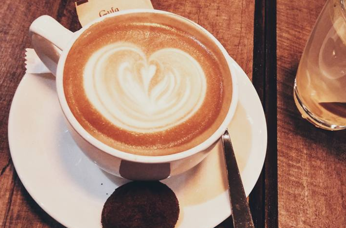 The Perfect Match – A Cup of Art with Cappuccino