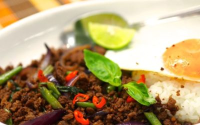 Dish of the Day: Thai Minced Beef with Herbs