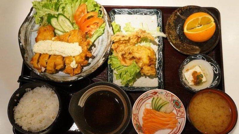 Dish of the Day: Tempura and Chicken Nanban Bento